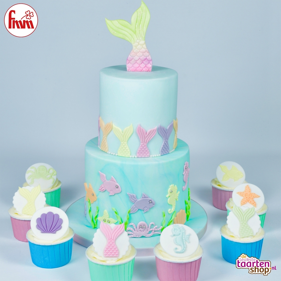 Blog New trend Mermaid Cake Deleukstetaartenshopcom